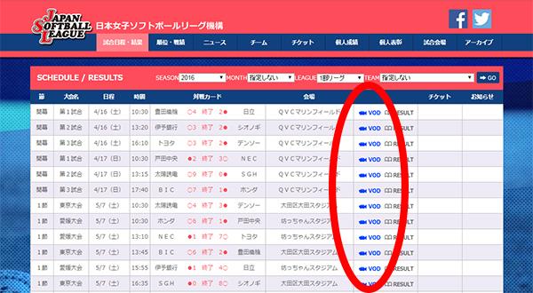 日本女子ソフトボール機構8