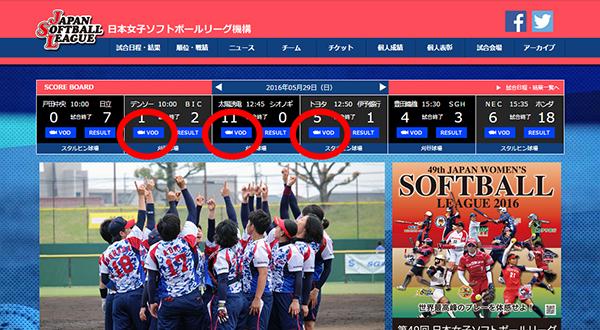 日本女子ソフトボール機構2